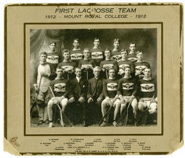 First lacrosse team