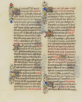 Medieval and early modern manuscript collection