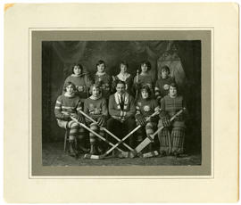 Girls hockey league - 1928