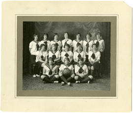 MRC Girls' basketball team - 1927-1928