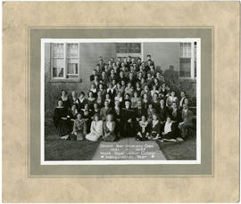 Second year university class - 1931-1932
