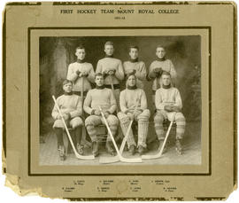 First hockey team - Mount Royal College 1911-12