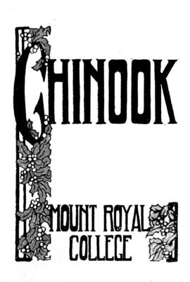 Chinook Christmas 1912-1913