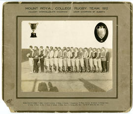 Mount Royal College rugby team - 1912