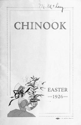 Chinook Easter 1926